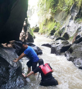 Adventure di Guwang Canyon Bali 1